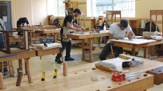 woodworking class learning