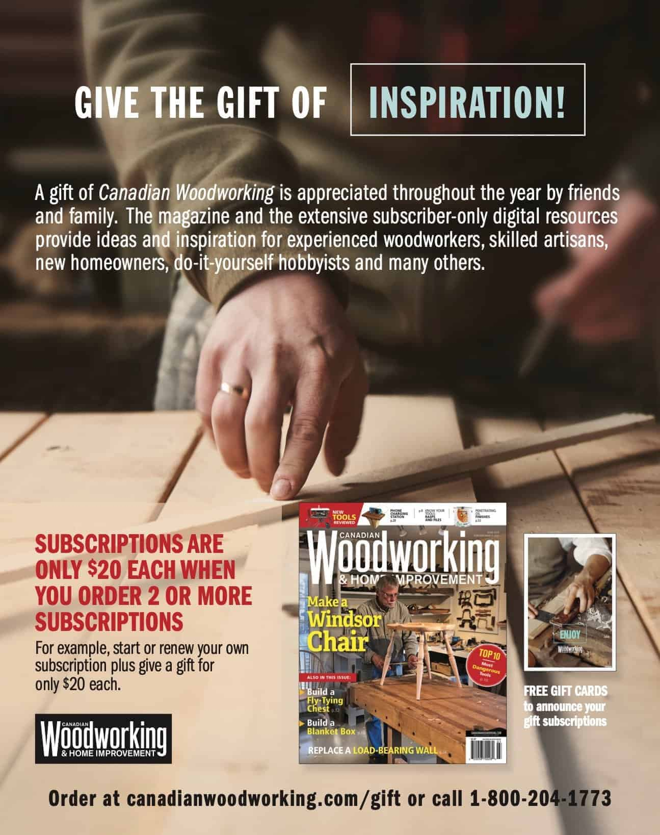 Give a gift of inspiration
