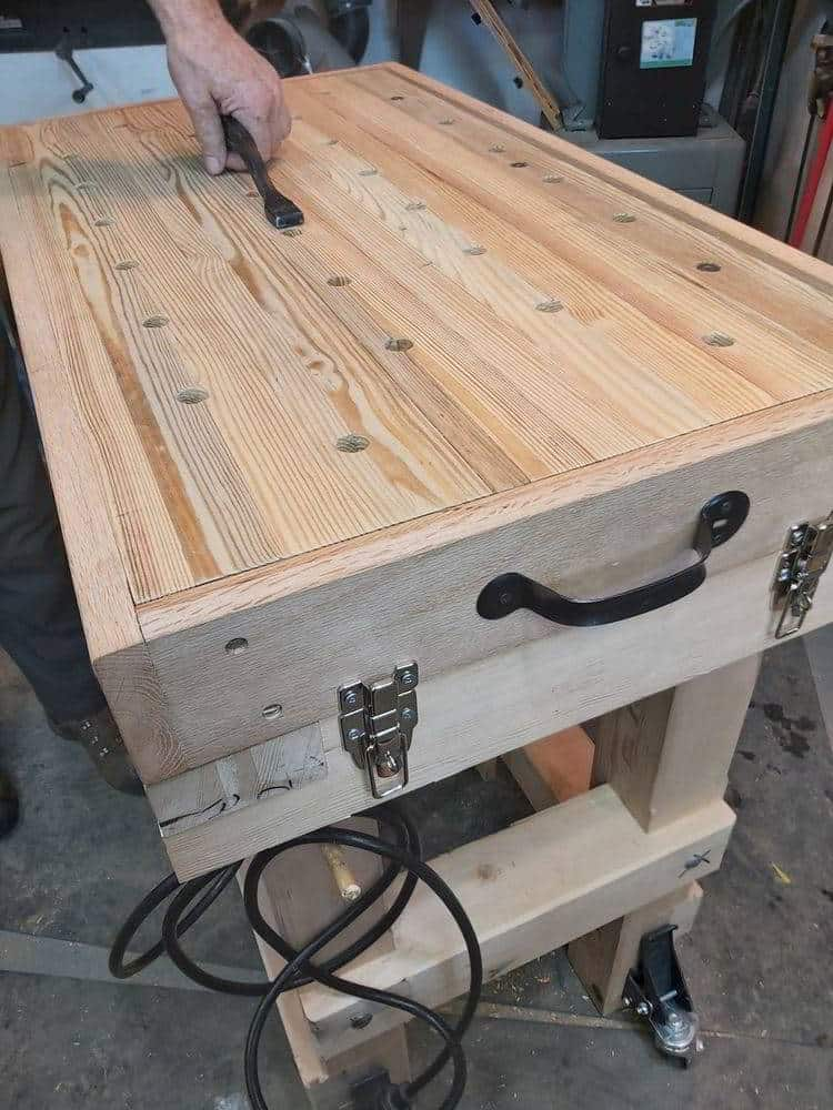 Carving Bench