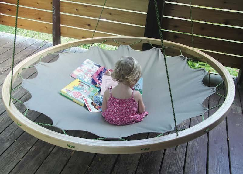 How to Build a Round Hammock