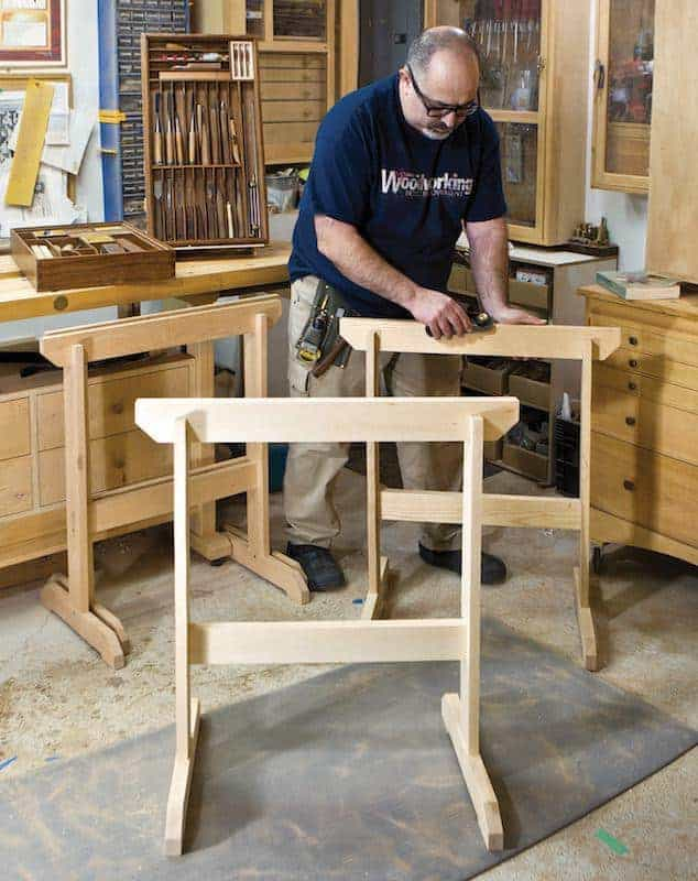 A Sawhorse: How to Build a Silent Partner