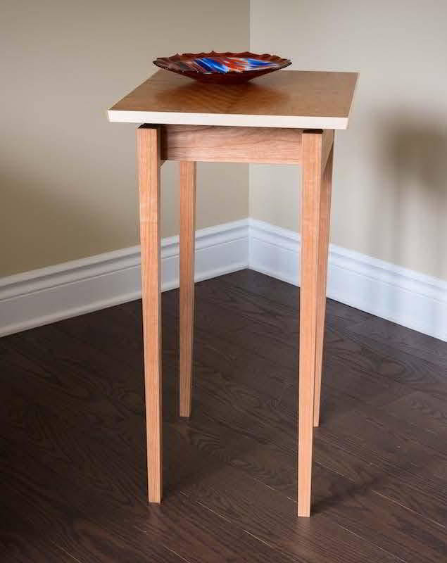 Build a Side Table with a Floating Top