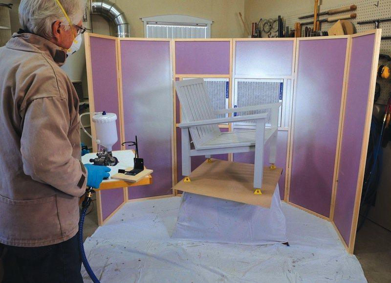 Spray Booth for Small Shops