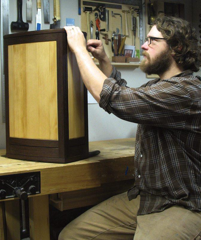 Craft a Curved Wall Cabinet