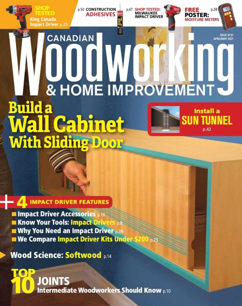 CanadIanWoodworkingissue131_AprMay2021-cover