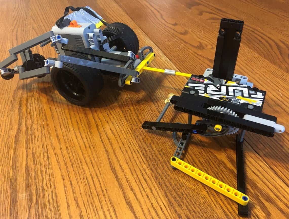 mars rover - table saw mode