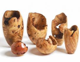 Natural Edge Hollow Vessels