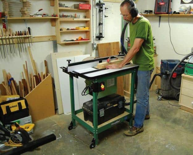 Choosing a router table