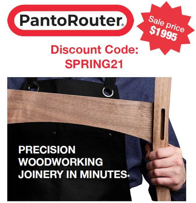 Precision woodworking joinery in minutes