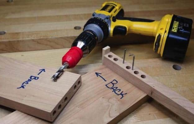 Dowel joinery: simple, strong and accurate