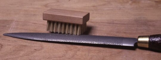 Brush for Cleaning Rasps and Files