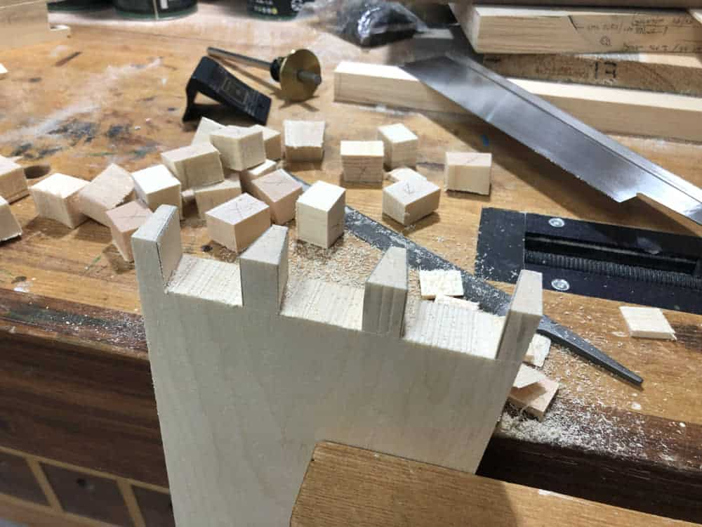 Power Tools on Hand-Cut Joints?