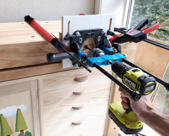 rockler drill guide